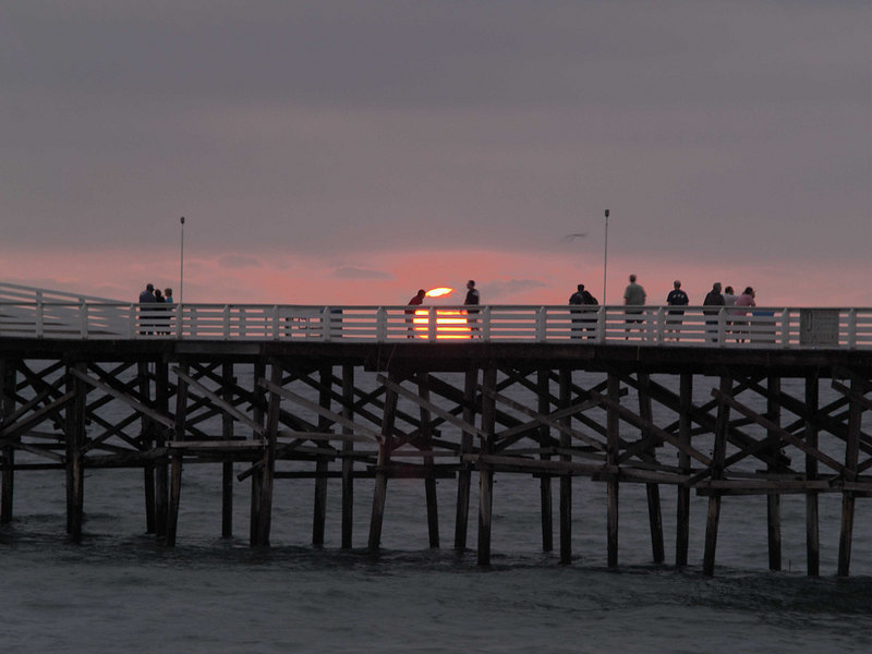Crystal Pier Sunset, Pacific Beach, California