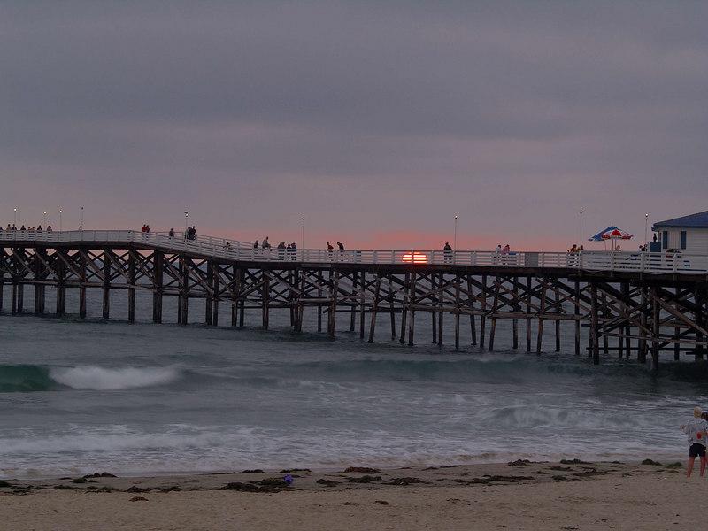 Crystal Pier Sunset, Pacific Beach, California