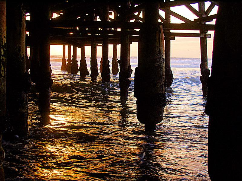 Crystal Pier Sunset, Down Under