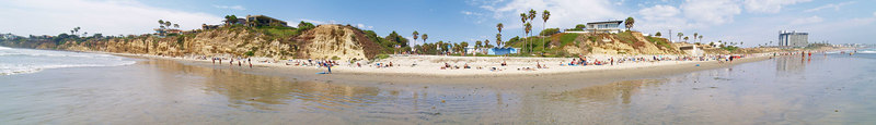 North Pacific Beach to North Mission Beach 6-25-2006<br /> This is a series of 18 panoramas from north to south. <br /> Were you there? Do you see yourself?<br /> <br /> 1 of 18 North to South<br /> <br /> Use size 'O' to select full size panorama.
