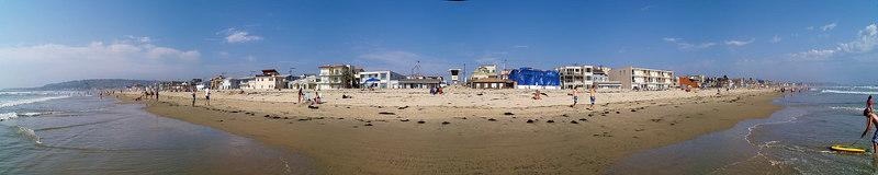 North Pacific Beach to North Mission 6-25-2006<br /> This is a series of 18 panoramas from north to south.<br /> Were you there? Do you see yourself?<br /> <br /> 16 of 18 North to South<br /> <br /> Lifeguard Tower 19<br /> <br /> Use size 'O' to see full size panorama.