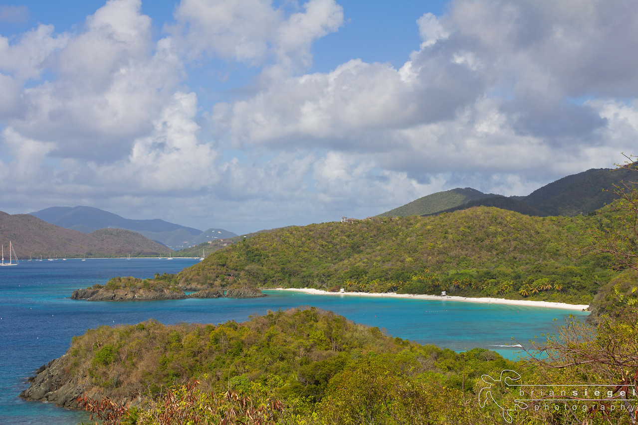 Trunk Bay from Peace Hill