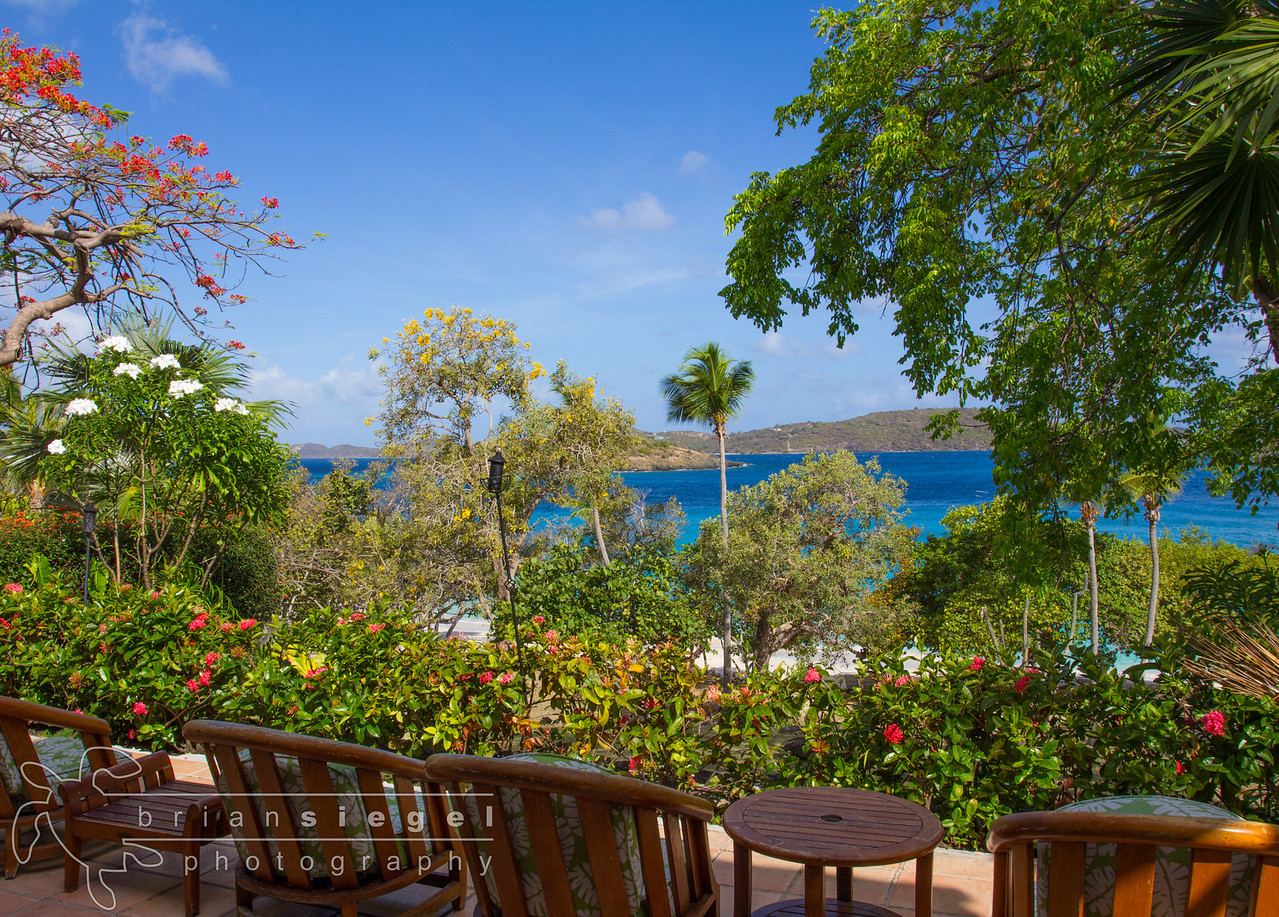 The View from Turtle Bay Estate House at Caneel Bay Resort