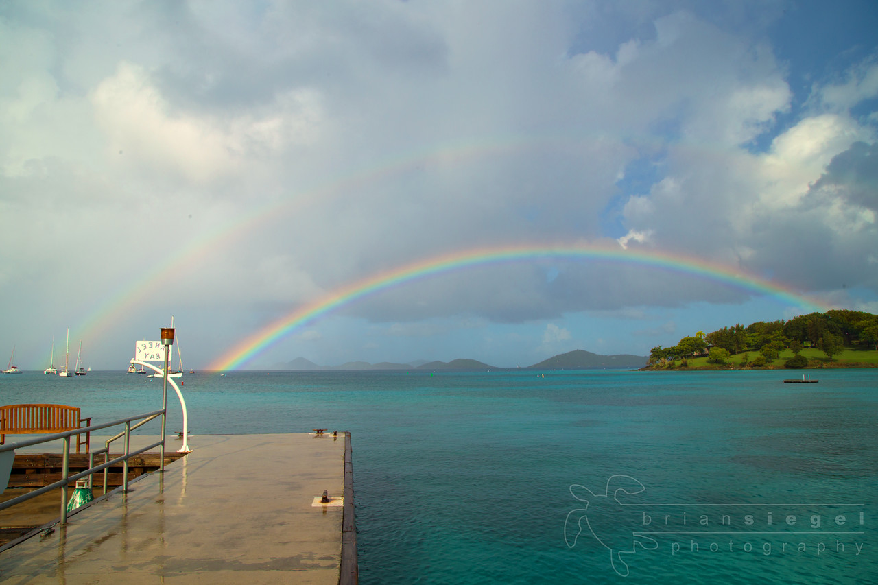 Rainbow at Caneel Bay