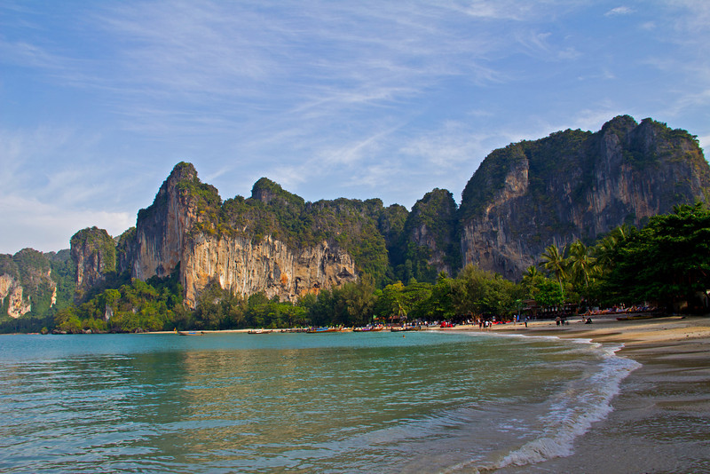 Railey Beach, Krabi Thailand