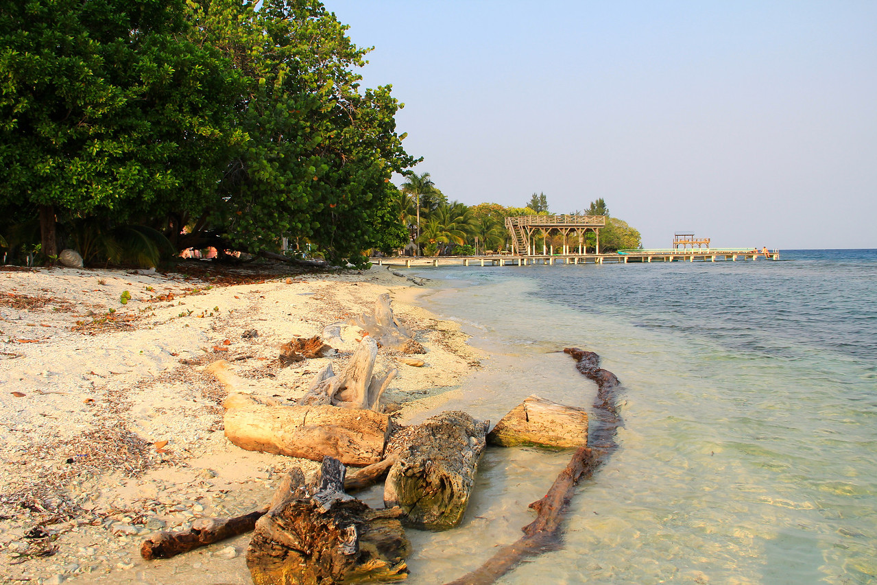 Treasure Beach, Utila.