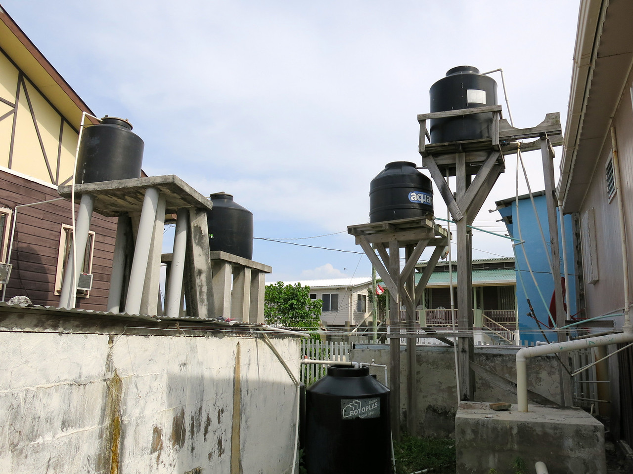 Water Supply-Utila Cays