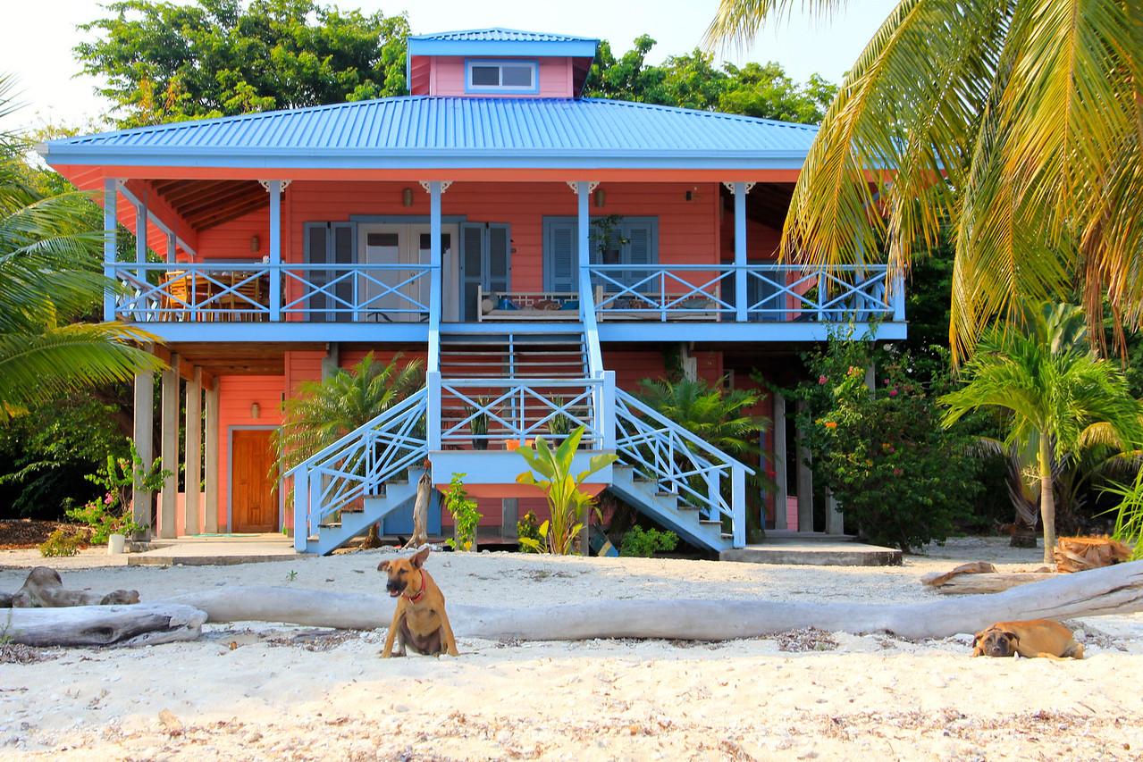 The Coral House on Treasure Beach. Utila.