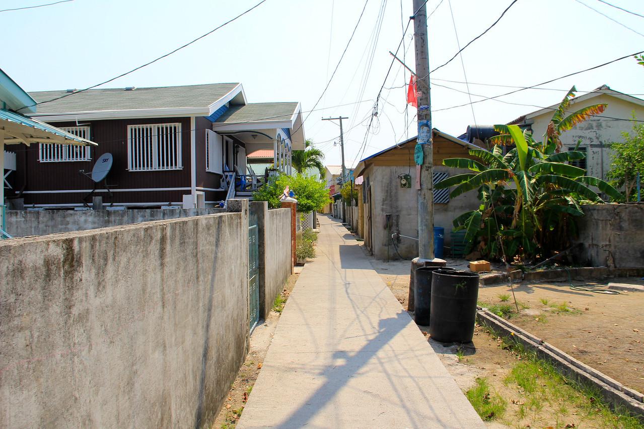 Utila Cays-Main Street