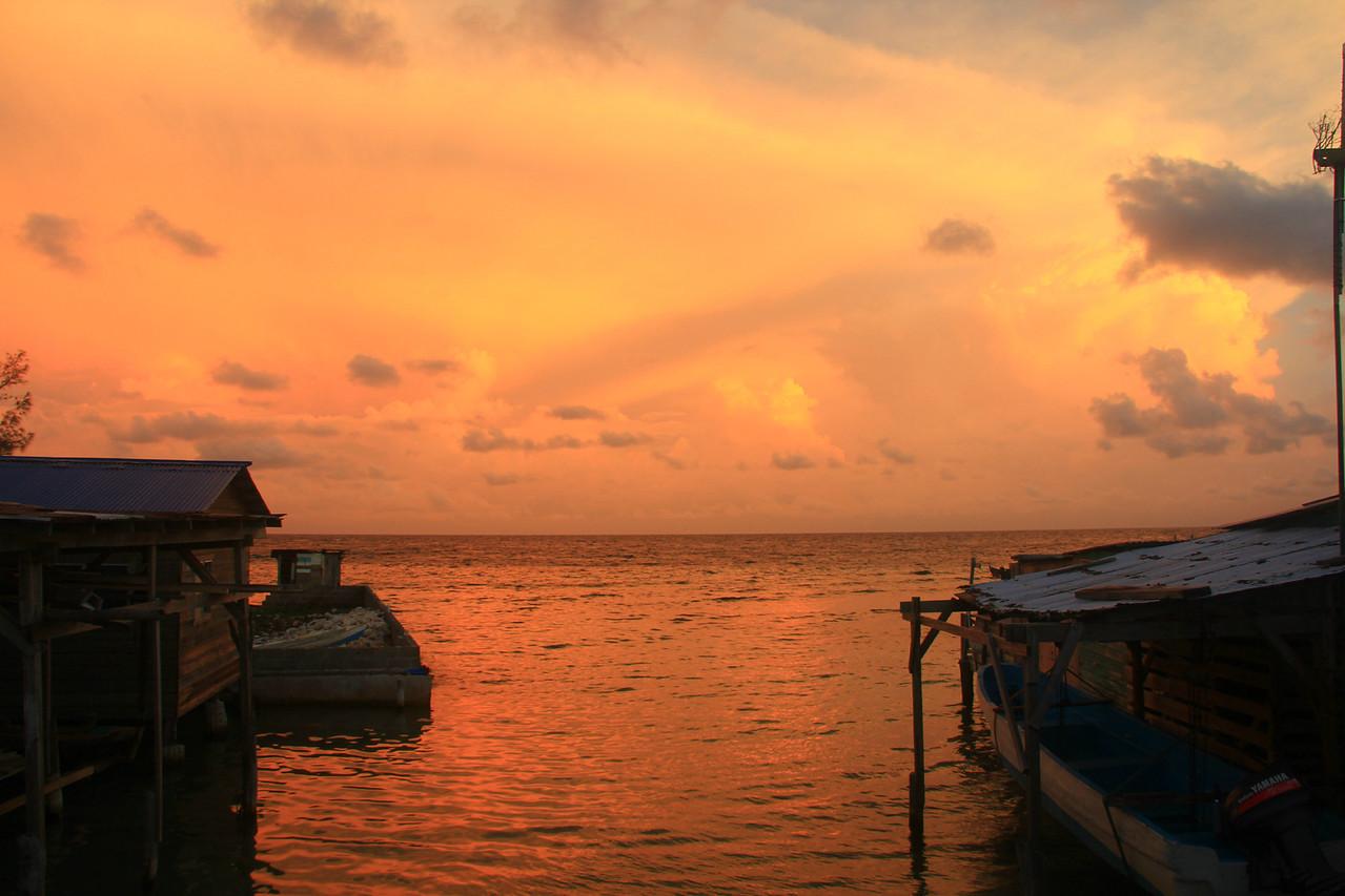 Pigeon Cay Sunset