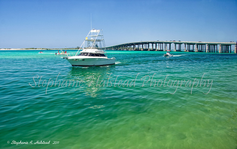 The Colors at Destin Bridge<br /> Yes, the water really was a combination of these exact colors. Beautiful!