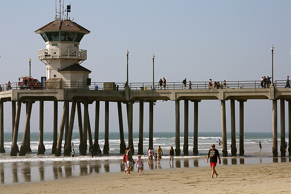 Huntington Beach - surf & shore