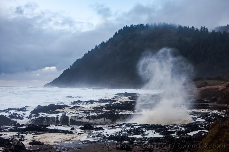 Wave Flume at Cape Perpetua