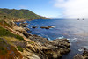 The dramatic cliffs of Garrapata State Park create an epic view overlooking the Pacific Ocean along the California Coast.