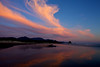 Sunset in Cannon Beach, Oregon - a beautiful myriad of cloud and color.