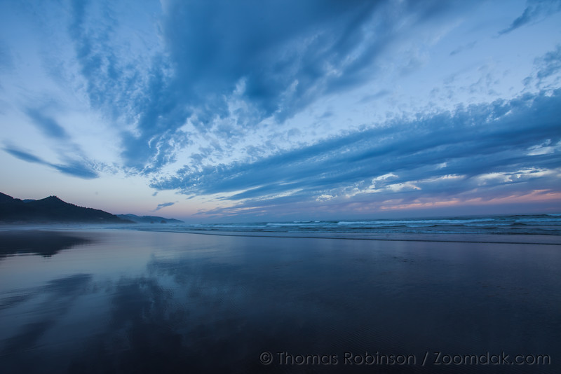 Blue Evening on the Oregon Coast
