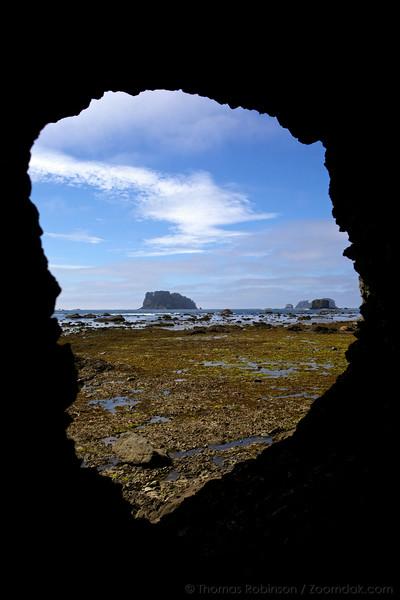 Flattery Rocks Eye Hole