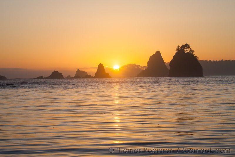 Sunset on the Olympic Coast
