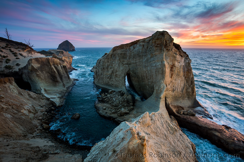 Cape Kiwanda Cliffs Sunset