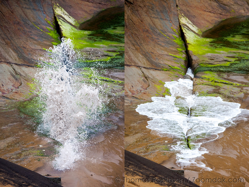Wave Chasm Diptych