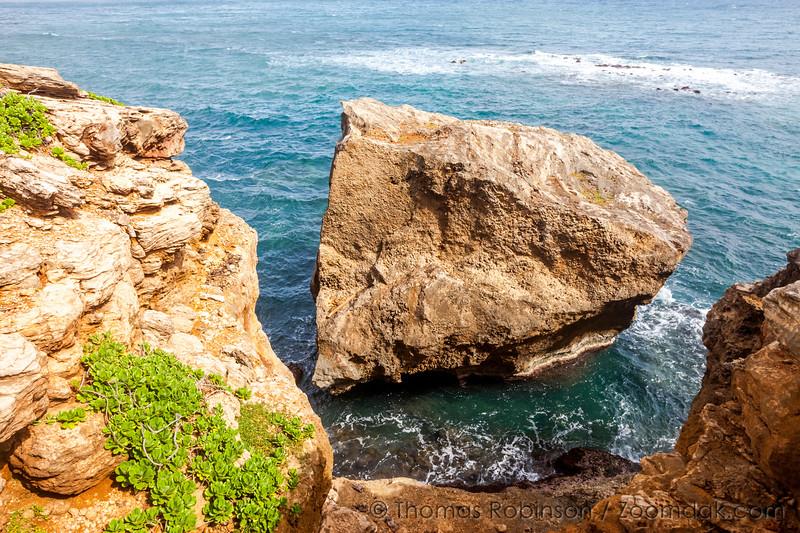Kauai Big Rock Seascape
