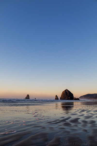Sunset Winter Light, Cannon Beach