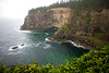 The cliffs of Cape Meares stand high above the Pacific Ocean along the Oregon Coast at Cape Meares State Scenic Viewpoint.
