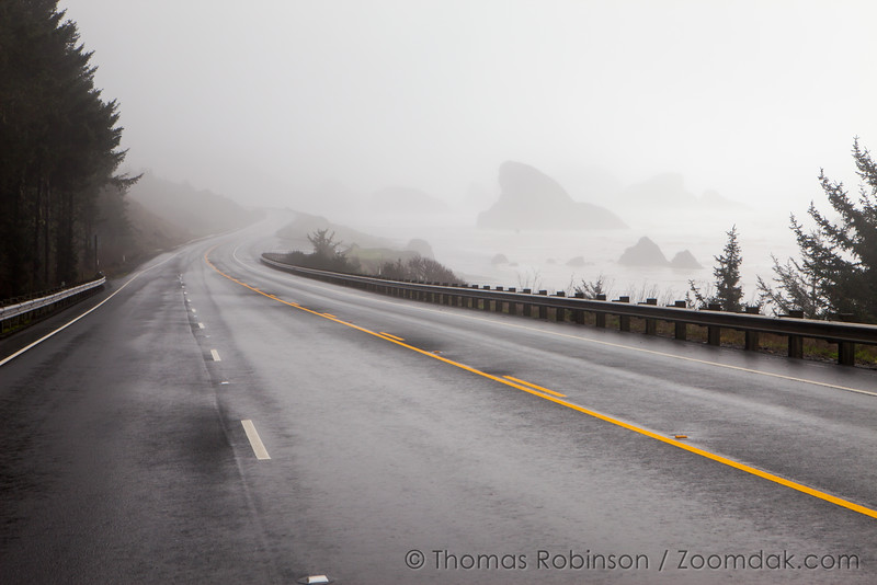 Highway 101, Winter Drive on the South Oregon Coast