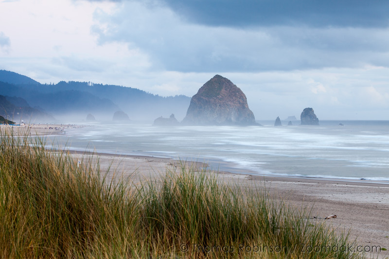Evening Tide in Cannon Beach
