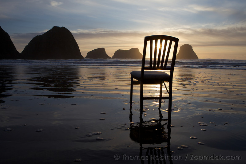 Have a seat and relax on the beach!