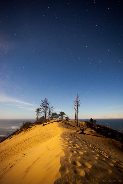 Dune Top Under the Stars