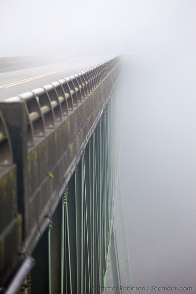 Thomas Bridge in the Fog