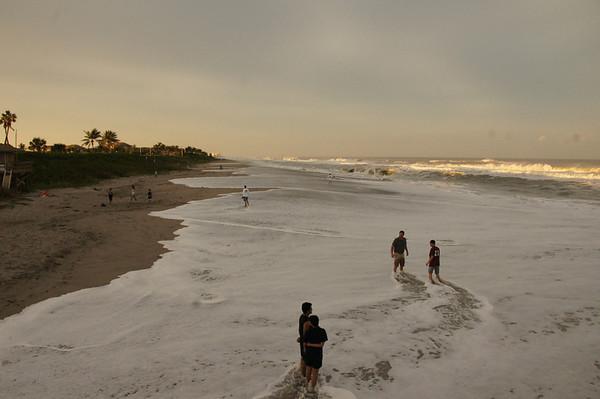 beach after Sandy  10-27-12