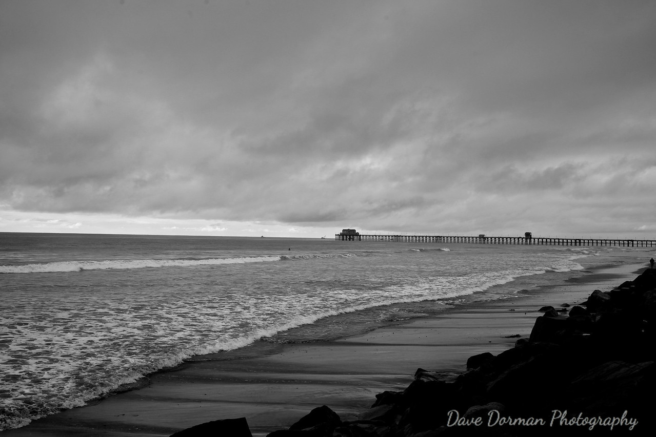 Gray Day, Oceanside, California