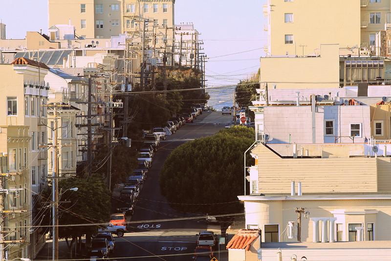San Francisco near Polk st