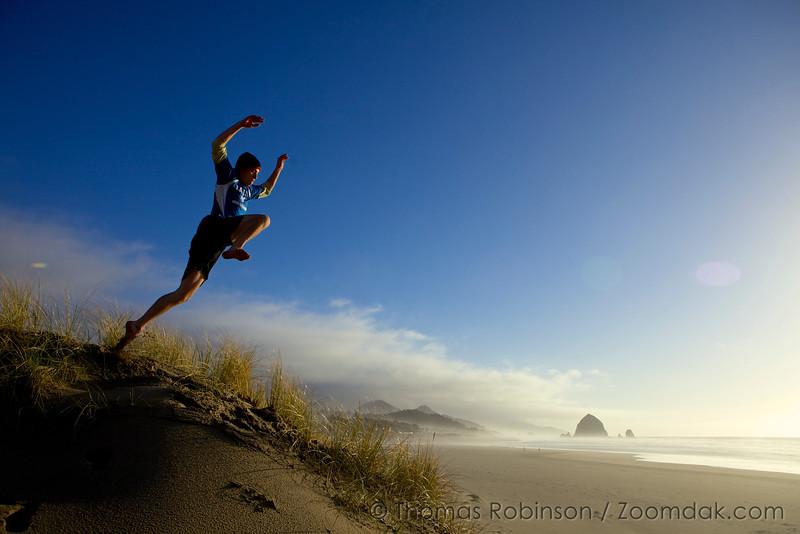 Dune Jumper - Cannon Beach, Oregon