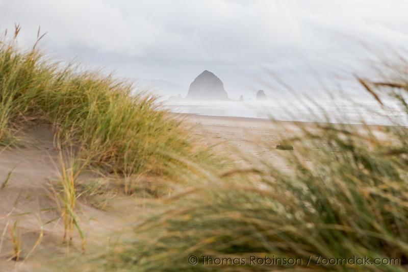 Haystack in the Dunes