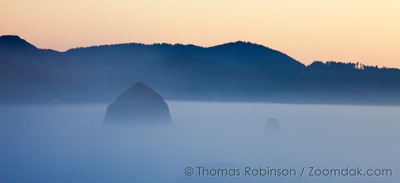 Sunset Fog in Cannon Beach