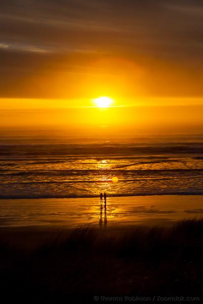 Sunset Couple Centered