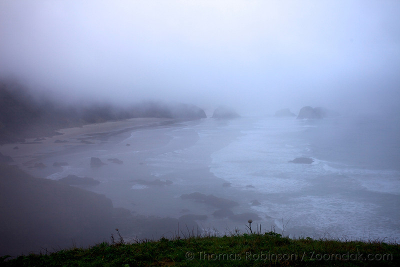 Ecola Point Morning Misty View