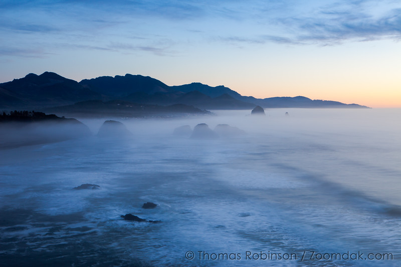 Ecola Foggy Vista