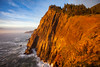 Neahkahnie Cliffs in Golden Glow