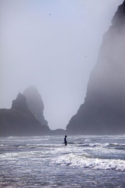 I come to the sea to breath.
