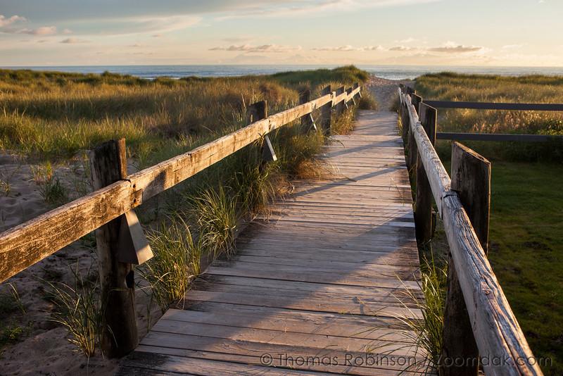 Breaker's Point Boardwalk - Oregon Coast