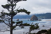 Oregon Coast Seascape: Haystack Rock