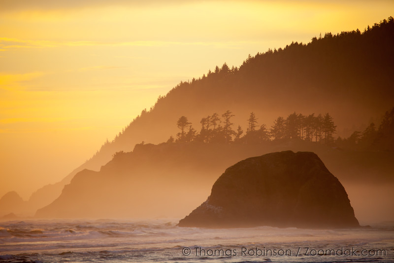 Golden Coast Sunset