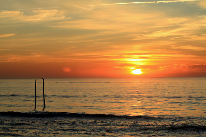 Sunrise at Center Pier 4-7-11