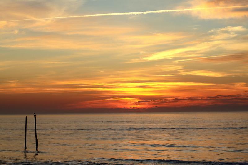 Sunrise in CB on 4-07-11