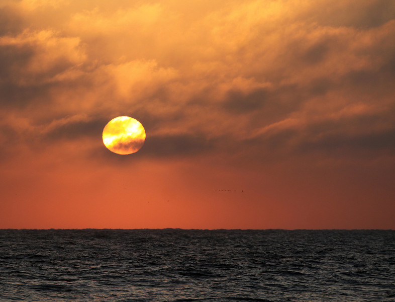 beach sunrise Carolina Beach, NC