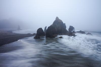 Ruby Beach Seascape on the Washington Coast